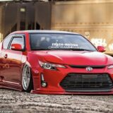 Scion tc 2014 2015 2016 ABS Plastic Front lip Splitter body kit.