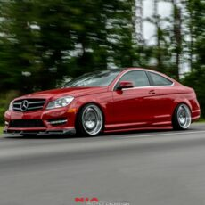 Mercedes C-Class coupe NIA Side Splitters. 2012 2013 2014 2015 2
