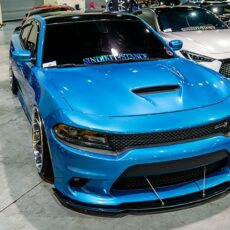 Dodge Charger Scat Pack RT hellcat NIA front Sleek Splitter Lip Body Kit 2015 2016 2017 2018 2019 ground effects