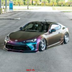 Toyota 86 NIA Full Splitter lip body kit (Front, sides, rears) 2