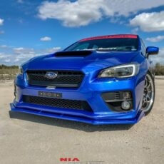 Wrx sti lip body kit chin spoiler splitter